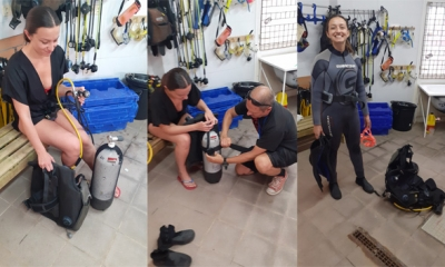 Anthony and Valarie Discover Scuba Diving